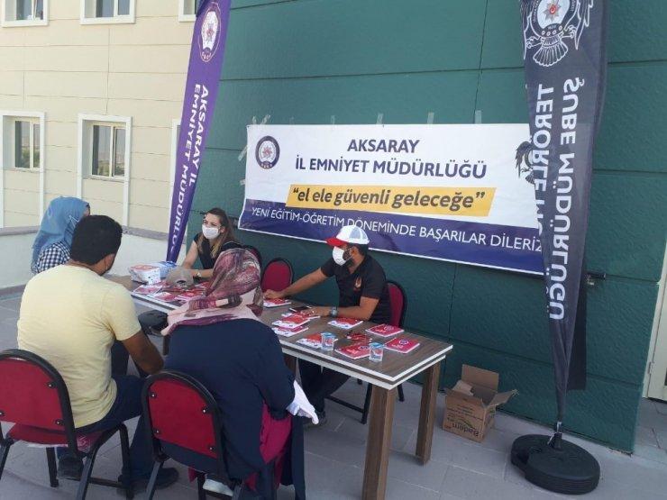 Aksaray'da öğrencilere terör örgütü bilgilendirmesi