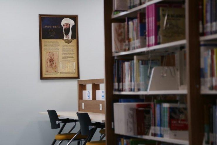ASÜ Kütüphanesinde anlamlı çalışma