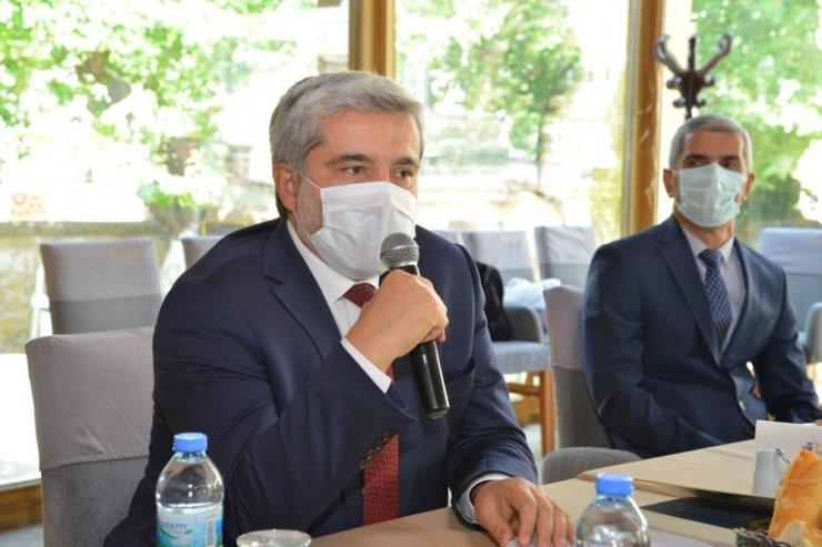 """Rektör Şahin: """"UNİKOP'un çalışmaları geniş bir alanı etkiliyor"""""""