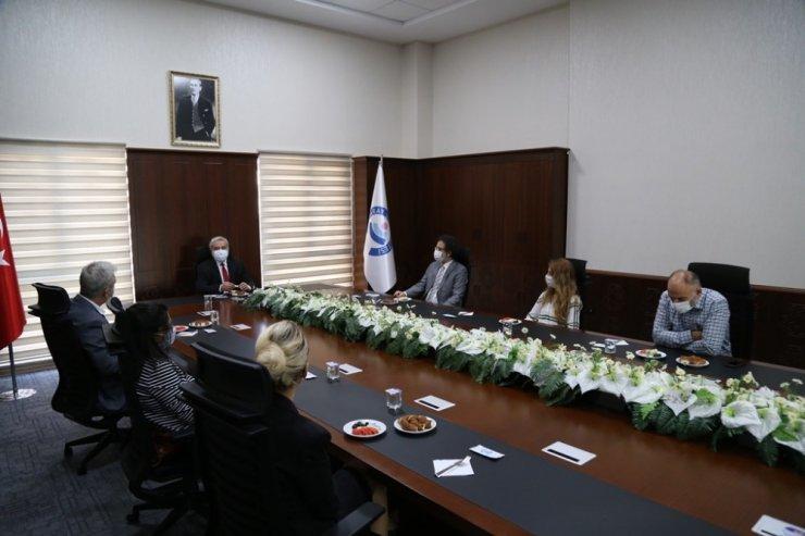 """ASÜ Rektörü Şahin: """"Ahenk içerisinde çalışmayı sürdüreceğiz"""""""