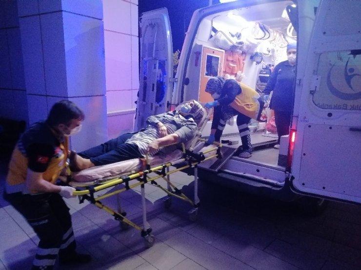 Kız istemeye giden aile kaza yaptı: 4 yaralı