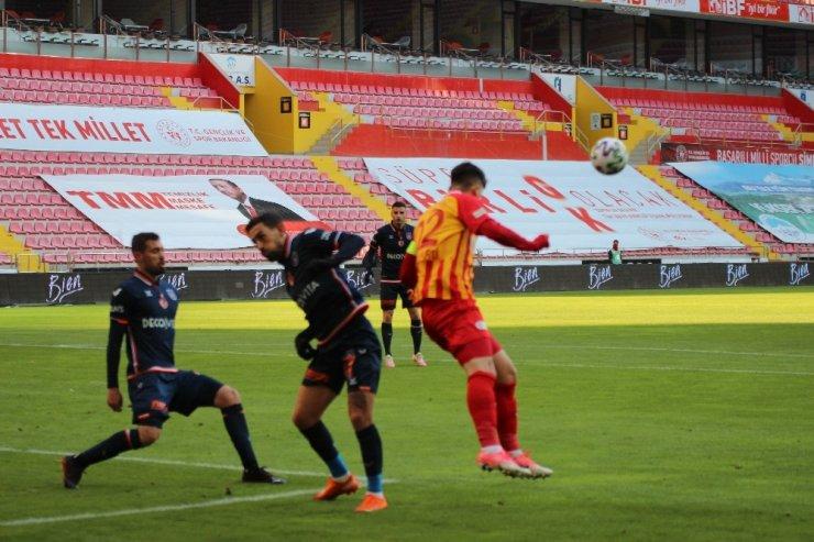 Süper Lig: Kayserispor: 2 - Medipol Başakşehir: 0 (Maç sonucu)