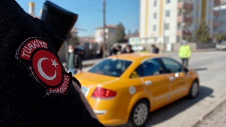 """Kırıkkale'de """"huzur ve güven"""" uygulaması"""