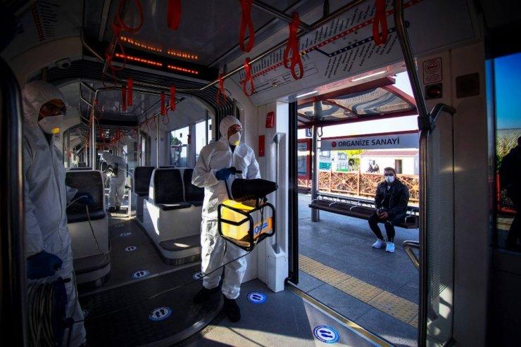 Kayseri Ulaşım A.Ş. koronavirüse yol vermedi
