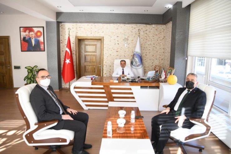 Tarım Ve Orman İl Müdüründen Başkan Mehmet Cabbar'a ziyaret