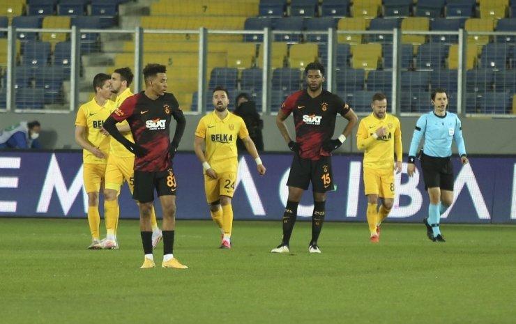 Süper Lig: MKE Ankaragücü: 2 - Galatasaray: 1 (Maç sonucu)