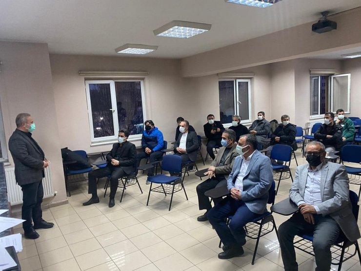 Akkışla Gençlikspor genel kurulu yapıldı