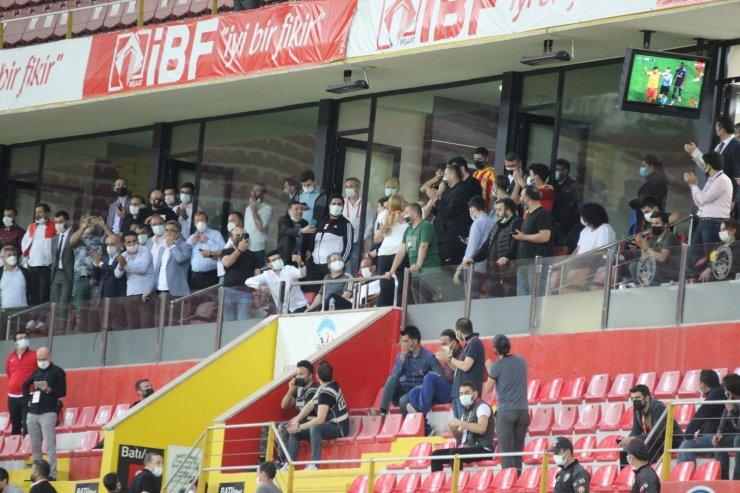 Kayserispor'da ligde kalma sevinci