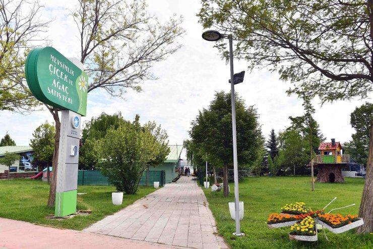 ANFA Bitki Evi ikinci şubesini Gölbaşı Mogan'da açtı