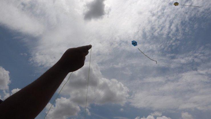 Kırıkkale'de engelli çocukların 'uçurtma' heyecanı