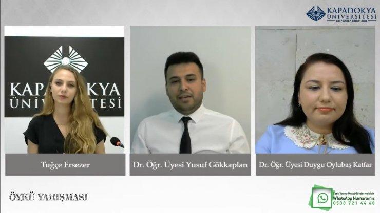 Kapadokya Üniversitesi öykü yarışmasının kazananları belli oldu
