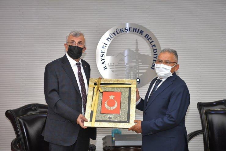 Başkan Büyükkılıç; Sağlık Bilimleri Üniversitesi Rektörü Erdöl'ü ağırladı