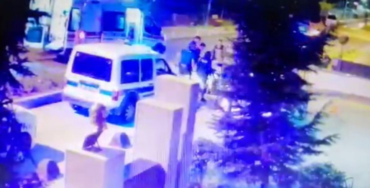 Polis memurunu telsizle darp eden sanık ilk kez duruşmaya katıldı