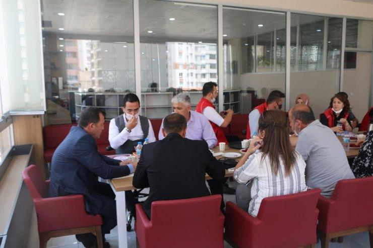 Gençlik Merkezi'nde değerlendirme toplantısı