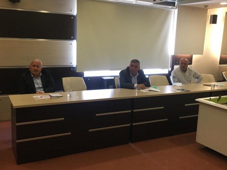 Ziraat odaları başkanları istişare toplantısında buluştu