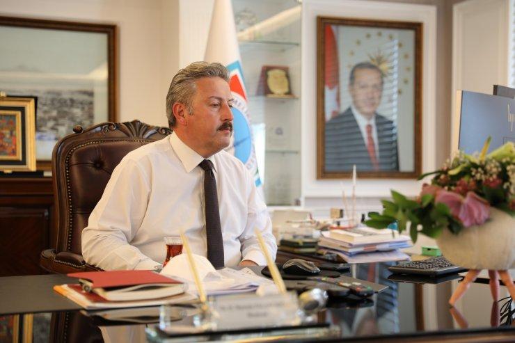 """Başkan Palancıoğlu: """"Ülkemizin menfaatleri çerçevesinde görüşlerimizi aktarmayı sürdüreceğiz"""""""