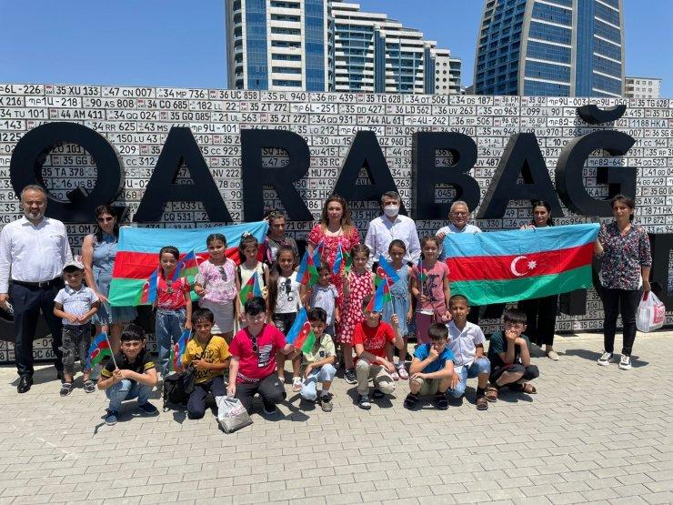 Başkan Büyükkılıç Bakü'de Türk ve Azerbaycan şehitliklerini ziyaret etti