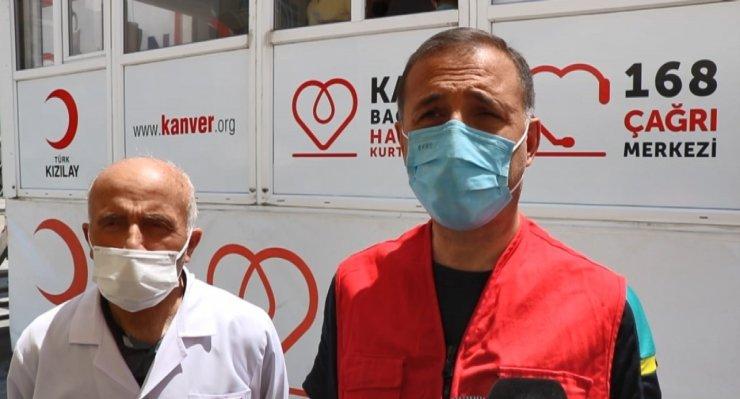 Kızılay Kırşehir'de kan bağışı çağrısında bulundu