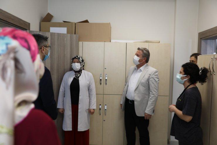 Melikgazi Belediye personeli Covid-19 aşısı oluyor