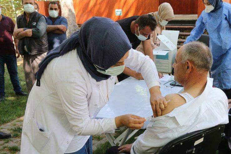 Yahyalı Belediyesi aşılama kampanyasına katıldı