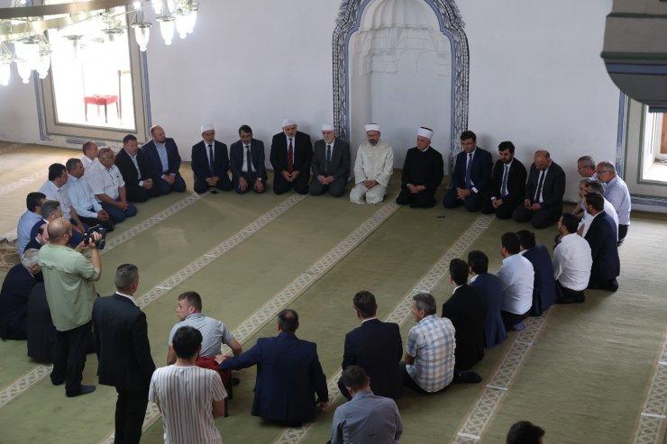 Diyanet İşleri Başkanı Erbaş, Makedonya'da
