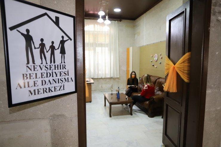 Nevşehir Belediyesinden ailelere ücretsiz danışmanlık hizmeti