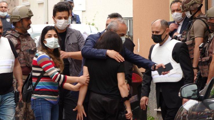 Sivas'ta rehin alınan kadın kurtarıldı