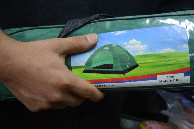 Kamp çadırları sezon açılmasına rağmen talep görmüyor