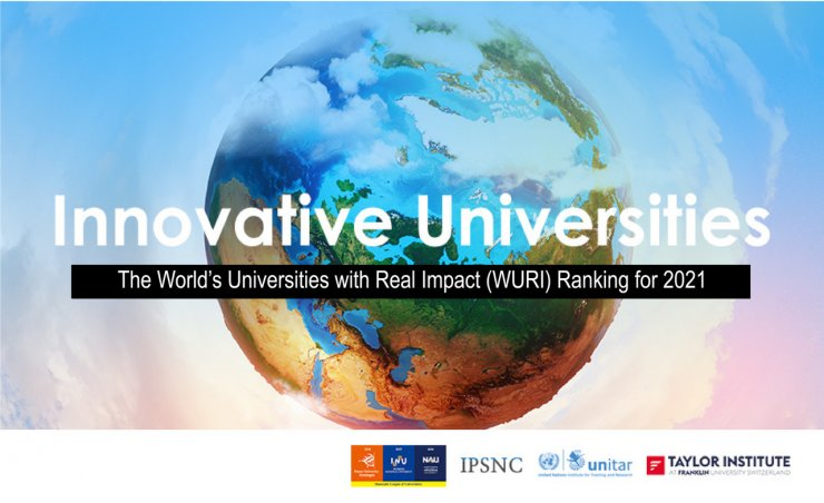 AGÜ, WURI 2021 Dünya Yenilikçi Üniversiteler sıralamasında İlk 30'da