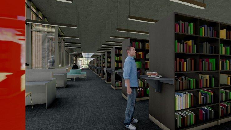 Başkan Büyükkılıç'tan Millet Bahçesi'ne kütüphane müjdesi