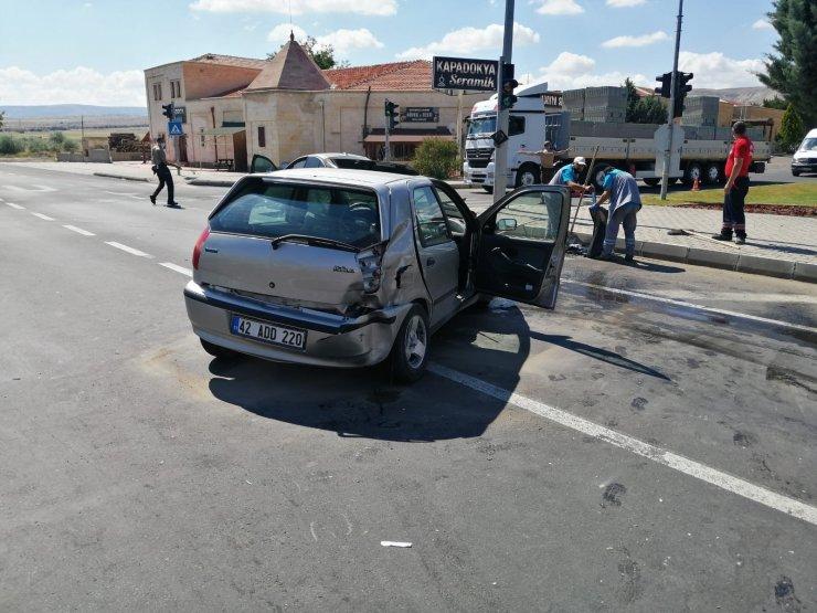 Nevşehir'de trafik kazası: 6 yaralı