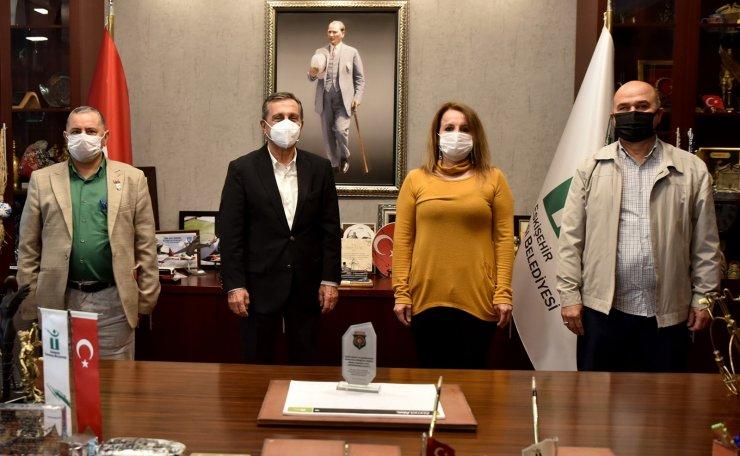 """Başkan Ataç: """"Gazilerimiz ve şehit ailelerimiz bizim baş tacımızdır"""""""