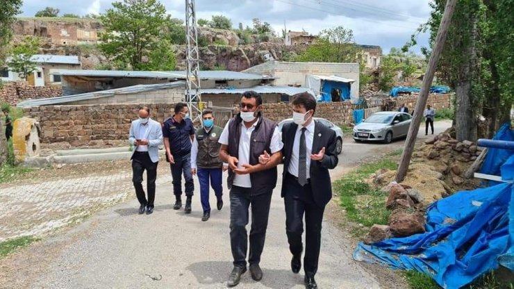 Kaymakam Cebeci ve Başkan Şahin Ekinli Mahallesi'ni ziyaret etti