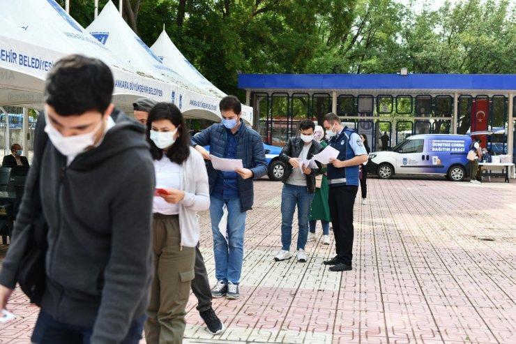 Ankara Büyükşehir Belediyesi'nin 250 zabıta memur alımına yoğun ilgi