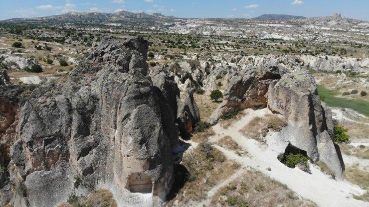 Kapadokya'da peribacaları sahipsiz bırakıldı