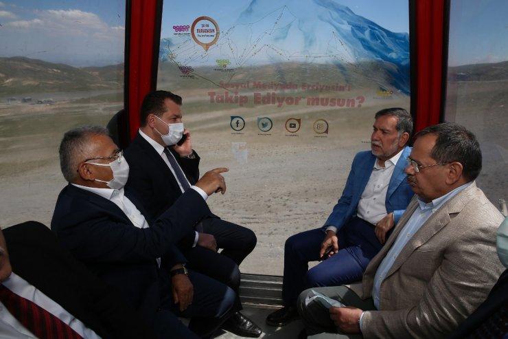Başkanlar Kadim Kent Kayseri'ye hayran kaldı