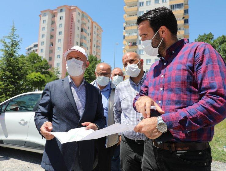 """Başkan Çolakbayrakdar: """"Yenilenen mahallelerle, Kocasinan'ı güzelleştiriyoruz"""""""