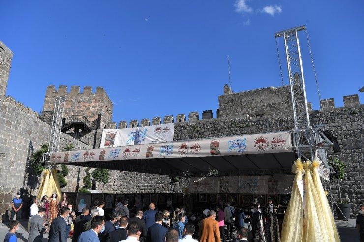 Büyükşehir'den tarihi kalede sanat sergisi