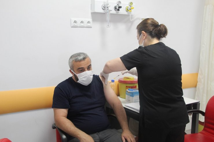 İç Anadolu'da aşı seferberliği