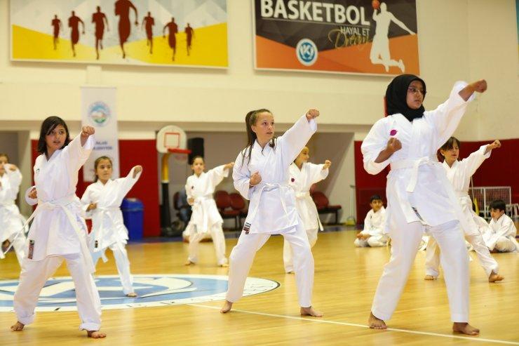 Talas sporcu fabrikasında terfi heyecanı