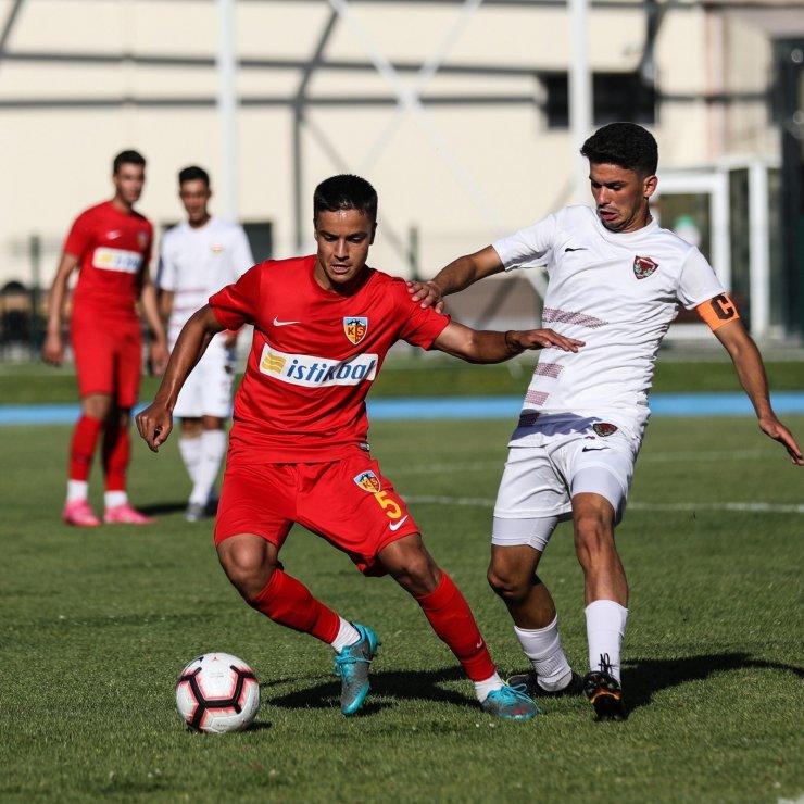 Kayserispor U19 sezonu 1 puanla kapattı