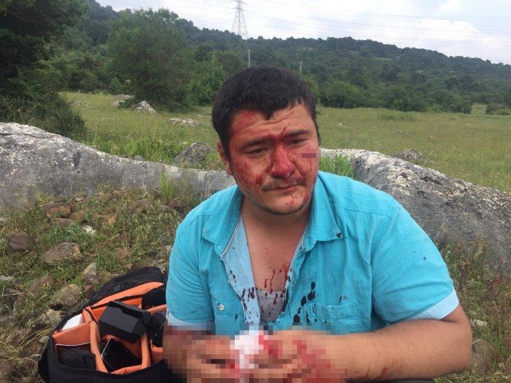 Anadolu Yayıncılar Derneğinden İHA muhabiri Uslu'ya yapılan saldırıya kınama