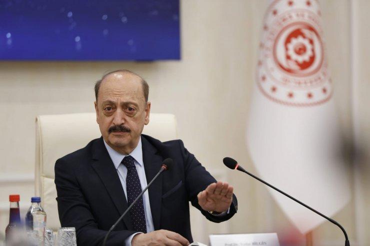 Bakan Bilgin, TİSK Yönetim Kurulu Üyelerini kabul etti