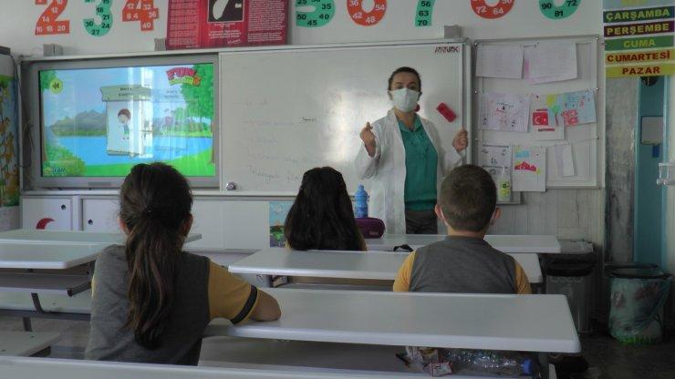 Okullarda 'Cıvıl Cıvıl' etkinliklerle 2 Temmuz'a kadar sürecek faaliyetler başladı