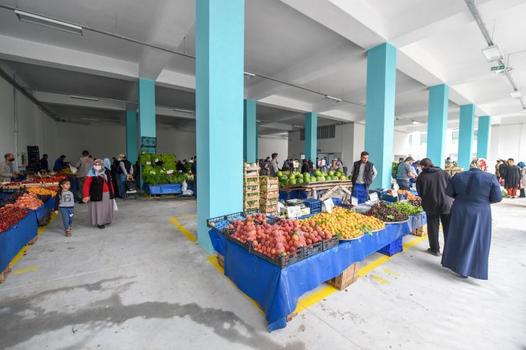 Altındağ'a bir semt pazarı daha