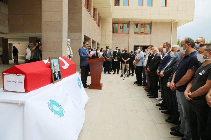 Niğde ÖHÜ kurucu Rektörü Yazgan için tören düzenlendi