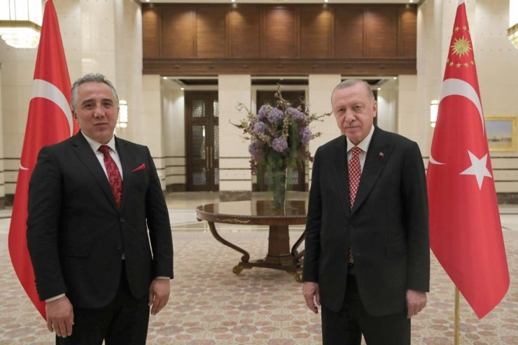 Nevşehir Belediye Başkanı Savran, Cumhurbaşkanı Erdoğan ile görüştü