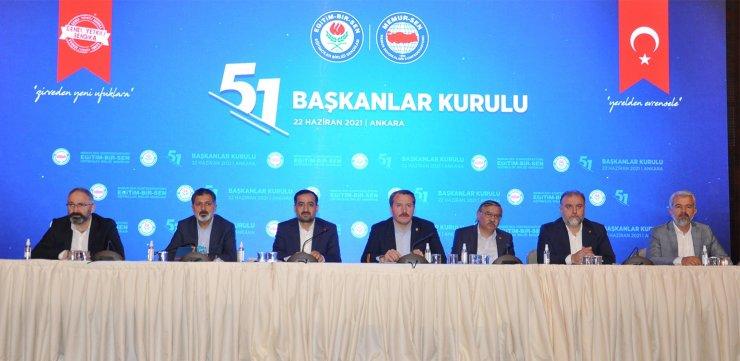 Eğitim-Bir-Sen 51. Başkanlar Kurulu Sonuç Bildirgesi açıklandı