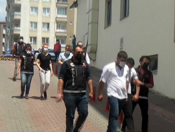 Kayseri'de uyuşturucu operasyonu: 1'i kadın 4 gözaltı