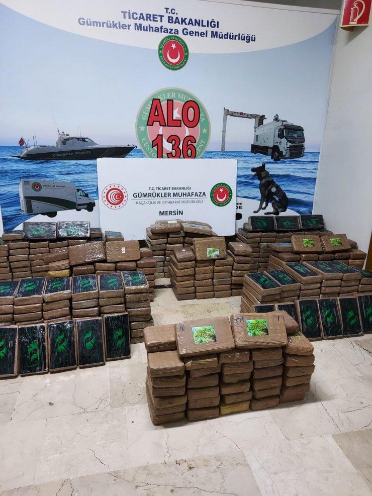 """Bakan Muş: """"Mersin Limanı'nda 463 kilogram kokain ele geçirildi"""""""